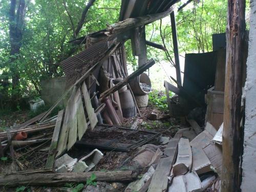 倉庫の解体