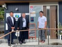 新潟県より株式会社小野組さんとオノエンタープライズ株式会社の社長さんが来社
